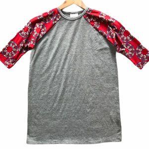 LuLaRoe x Disney Daffy Duck Sloan Raglan Shirt